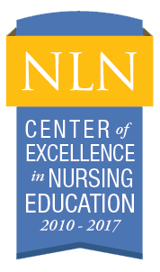 NLN Center of Excellence in Nursing Education Badge